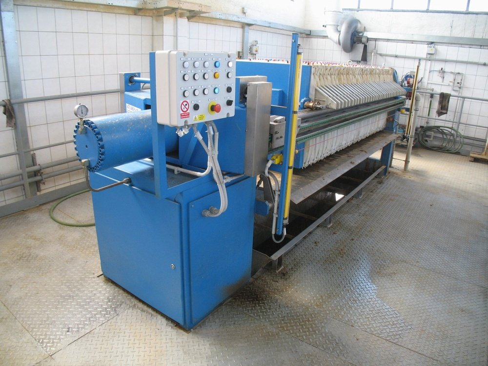AMEA 800, membrane filter press<br />Spolchemie Usti.